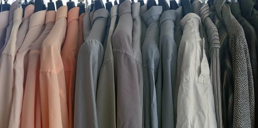 Camisas preparadas para Koopera Upcycling